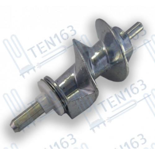 Шнек для мясорубки Moulinex, Elenberg 6-гранник 6mm, длина 114,6 mm