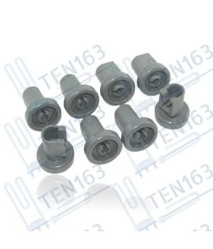 Комплект роликов корзины посудомоечной машины Electrolux Zanussi AEG 50286967000 8 шт.