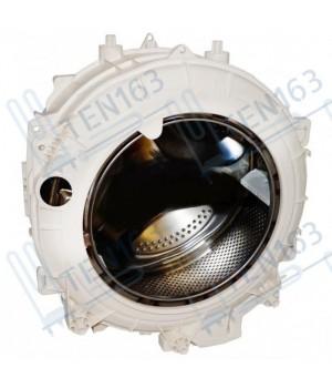 Бак для стиральной машины Ariston/Indesit (в комплекте со шкивом и тэном) C00287242