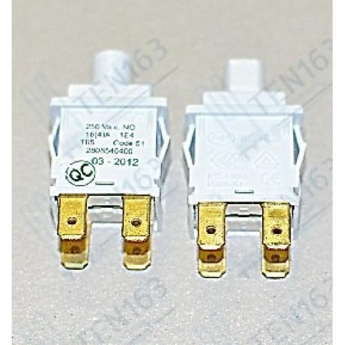 Кнопка стиральной машины сетевая Beko 2808540600. 2808540400, 2808540500