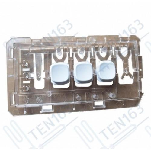 Светопроводник кнопок в сборе (WHITE) Beko 2867700200