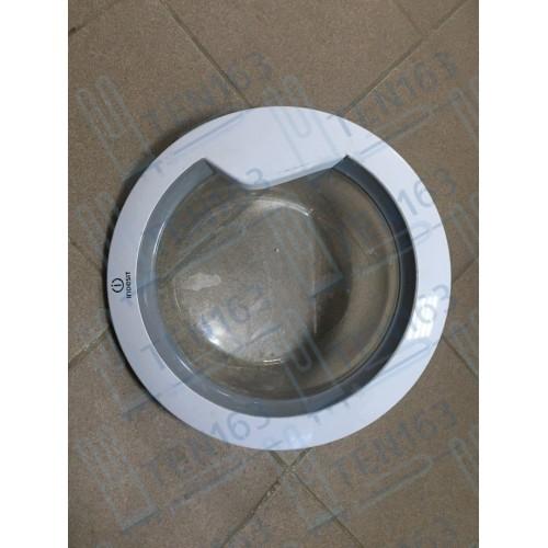 Люк, дверка для стиральной машины Indesit C00270556