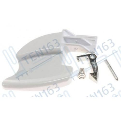 Ручка люка +(крючок пружинка) для стиральной машины Candy 49016396