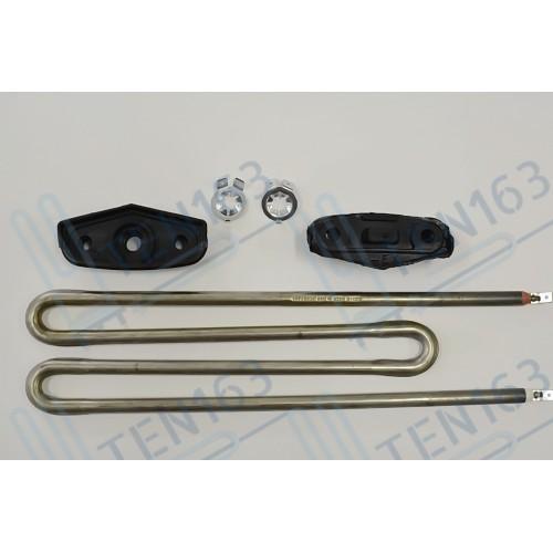 ТЭН для стиральной машины MIELE 2100W + 2 резинки (с отверстием и без) MI5106