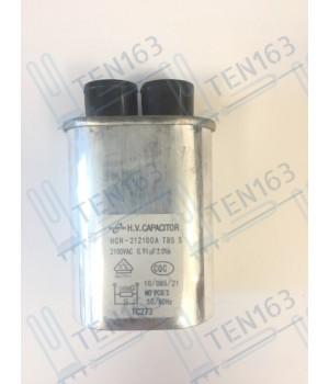 Конденсатор 2100V 0.91MF для микроволновой печи СВЧ