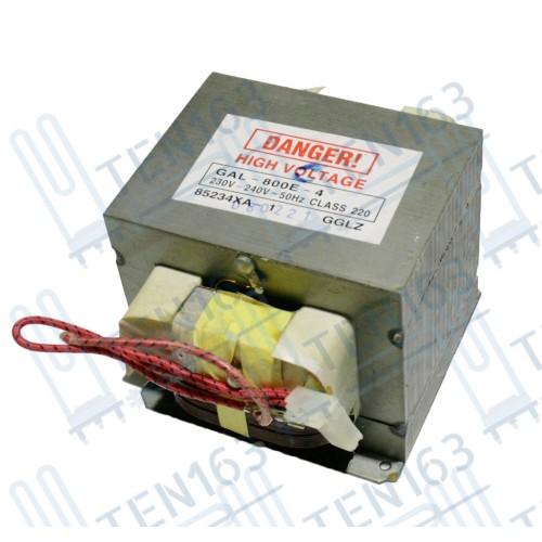 Трансформатор силовой для СВЧ 800W, 220-240V, 50Hz