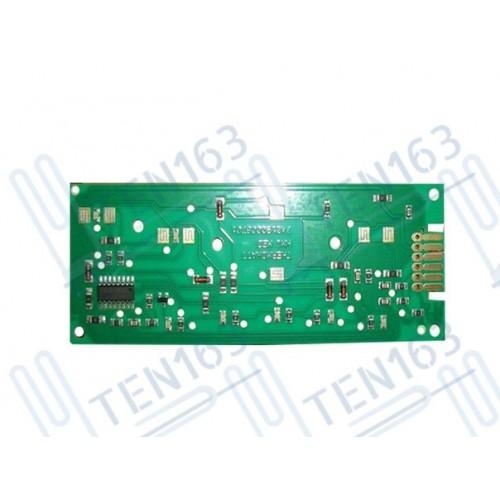 Электронная плата дисплея для водонагревателя Аристон (Ariston) серии ABS: PRO, PLT, BLUE 65108273