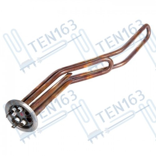 ТЭН для водонагревателя THERMEX 2000W 220V 350mm медь горизонтальные баки, резьба под анод М4