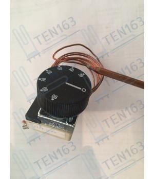Термостат для электрических котлов 30-90° TU 45 ST/1,0м с ручкой