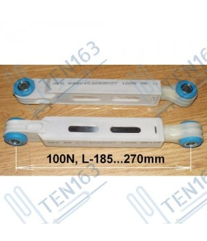 Амортизатор 100N, длина 185-270мм, AEG - 8996453289507 2шт