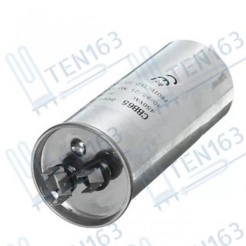 Конденсатор для кондиционера CBB65 75мкф, 440V