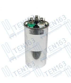 Конденсатор для кондиционера CBB65 30+2.5 мкф, 450V