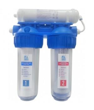"""Питьевая система очистки воды ЛАДОГА-3СТ """"Антибактериальный"""" три ступени"""