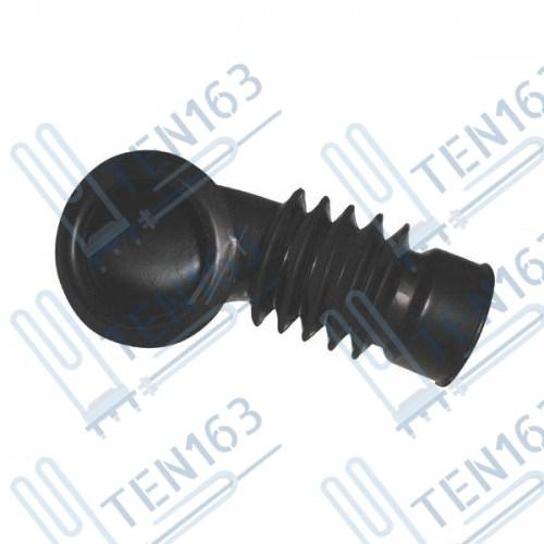 Патрубок от порошкоприемника к баку для стиральной машины Ariston, Indesit C00027923
