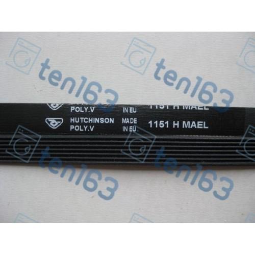 Ремень 1151 H7 для стиральной машины 1080 мм