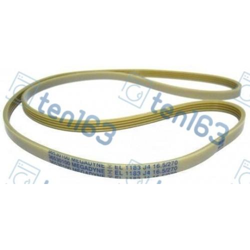Ремень 1183 J4 EL приводной для стиральной машины 1111 мм