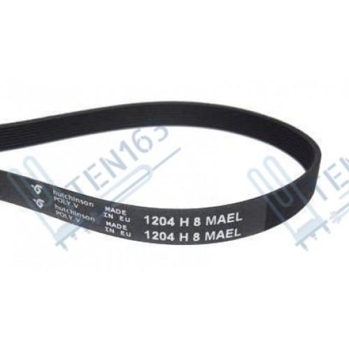 Ремень 1204 H8 черный Candy, Whirlpool Megadyne 481235818167