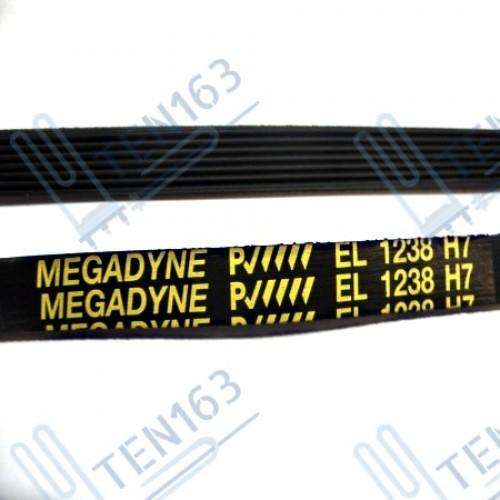 Ремень 1238 H7 черный Megadyne ARDO