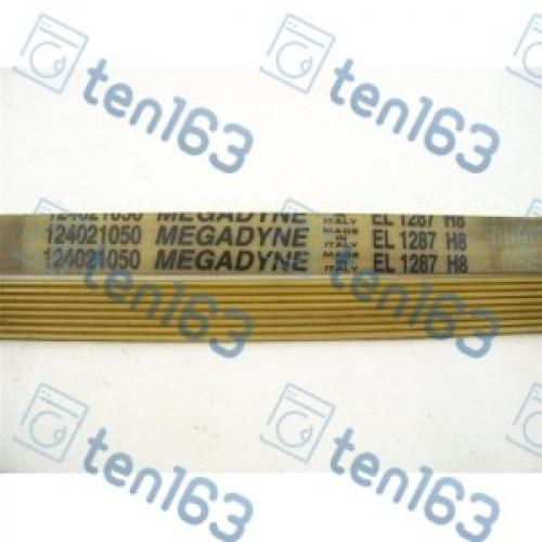 Ремень 1287 H8 megadyne для стиральных машин 1222 мм