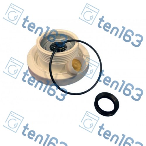 Суппорт для стиральной машины Electrolux Zanussi Cod 099 со стороны шкива, резьба против часовой стрелки (6203)